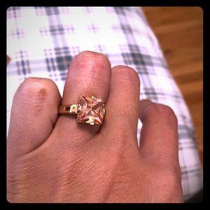 Citrine fashion ring sz 7